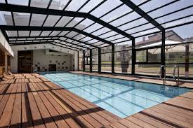 an alternative to indoor pools retractable enclosures libart usa