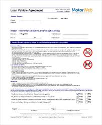 35 loan agreement forms in pdf