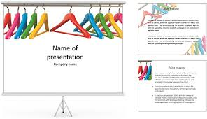 clothes powerpoint template mershia info