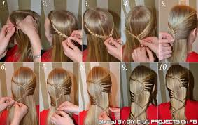 Hairstyle Steps For Girls by Braid Hairstyle Step Medium Hair Styles Ideas 40406