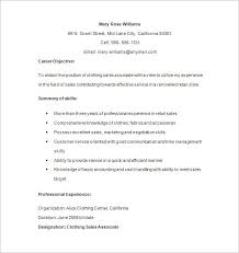 retail resume templates retail cv template sales environment sales