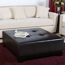 coffee table awesome large ottoman coffee table round leather