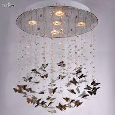 Butterfly Chandelier Custom Made Pristine Prism Crystal Dream Butterfly Chandelier Lamp