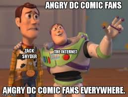 Zack Meme - the death of the dceu how zack snyder s ambition s crushed a dream