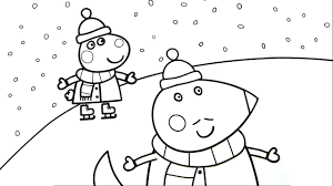 peppa pig coloring for kids peppa pig fun art activities video for