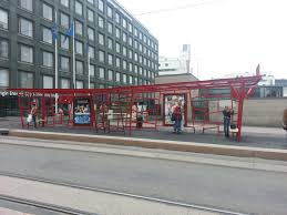 a design tram stop near kamppi center by stefan lindfors