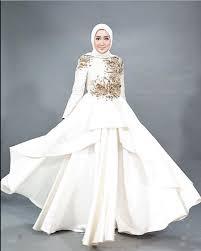 gaun muslim model baju muslim pesta dian pelangi fashion modern 2018