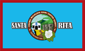 Guam Flag Santa Rita Flag Municipality Of The Us Territory Of Guam Guahan