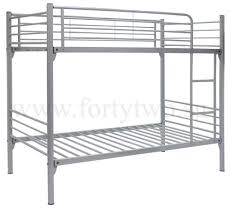 Steel Double Deck Bed Designs Michelle Double Deck Bed Super Single Size Furniture U0026 Home