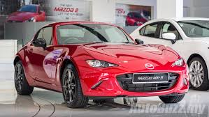 mazda mx 5 rf debuts in malaysia manual gearbox order books open