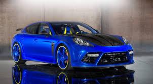porsche panamera 2015 blue mansory porsche panamera turbo is a nuclear assault on the senses