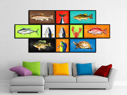 orange home decor fish picture frame images craft decoration ideas