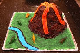 volcano cake free of peanuts and tree nuts kids with food allergies