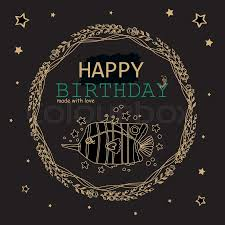 happy green color happy birthday greeting card black gold metallic and jade green