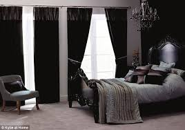 Black Curtains For Bedroom Amazing Black Bedroom Curtains Callysbrewing