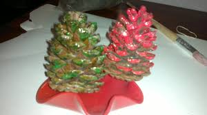 glittery pine cone christmas decoration activity everywhere