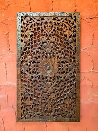 carved wood wall india home design ideas