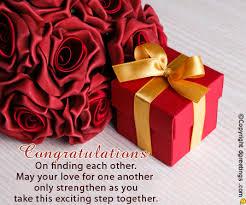 Engagement Congratulations Card Congratulations On Finding Each Other Engagement Congratulations