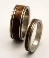 wooden wedding bands jewelry rings wooden wedding rings unique ring set antler band
