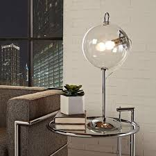 Globe Table Lamp Glass Bubble Table Lamp Modern Furniture U2022 Brickell Collection