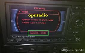 rns e audi audi car radio unlock decode service for audi a3 a4 rns e plus car
