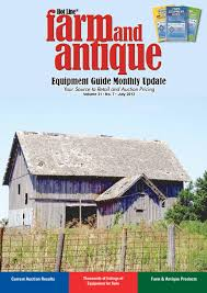 farm u0026 antique equipment guide monthly update by heartland