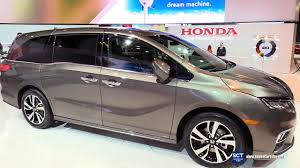 2018 honda odyssey elite exterior and interior walkaround 2017