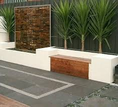 Backyard Feature Wall Ideas Option For Wall Pool Or Boys Patio Space Interior Design