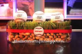 baseball centerpieces baseball centerpieces the obsessive crafter