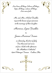 Christian Wedding Cards Wordings Lake Invitation Wordings Christian Mesmerizing Christian Wedding