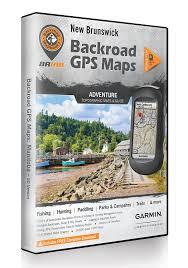 Hunting Gps Maps New Brunswick Backroad Gps Maps Amazon Ca Electronics