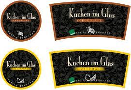 Designer K Hen Etiketten Für Kuchen Im Glas Etiketten Briefing