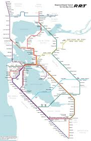 San Francisco Bay Map by Best 25 Bay Area Rapid Transit Ideas On Pinterest Subway
