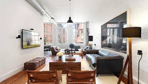 Livingroom Soho by Jonah Hill Puts Soho Loft On The Market For 3 8 Million Looking
