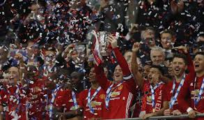Liverpool Trophy Cabinet Manchester United Equal Liverpool U0027s Total Trophy Tally By Winning
