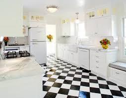 carrelage cuisine damier noir et blanc lino noir et blanc damier awesome carrelage cuisine noir