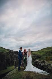 iceland wedding venues boldly elopement in the fjaðrárgljúfur