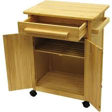 rolling kitchen island cart small kitchen storage cart natural wood rolling island microwave