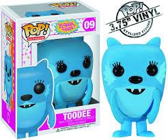 may122088 pop yo gabba gabba toodee vinyl fig previews
