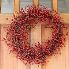 berry wreath ridgewood berry wreath 24 inch stunning