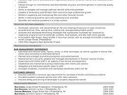resume samples objective plush design ideas bartender resume examples 12 sample bartender download bartender resume examples