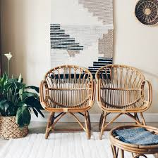 Vintage Style Patio Furniture - franco albini style scoop chairs bamboo chairs rattan chairs