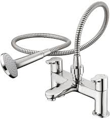standard concept 2 hole bath shower mixer with set b9930 ideal standard concept 2 hole bath shower mixer with set b9930