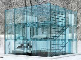 Glass Front House Through Glass House Designed By Carlo Santambrogio U0026 Ennio Arosio