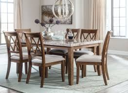 Hamlyn Dining Room Set by Narvilla Two Tone Rectangular Dining Room Set From Ashley