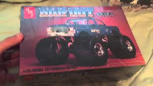 bigfoot amt ertl monster truck model kits