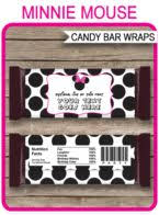the 25 best minnie mouse candy bar ideas on pinterest mickey