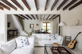 Living Room Ceiling Beams Ceiling Beams In Interior Design How To Incorporate Them In Your