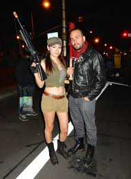 Walking Dead Costumes Halloween West Hollywood Halloween Walking Dead Rosita Negan