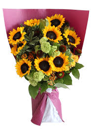 bouquet of sunflowers deluxe sunflower bouquet